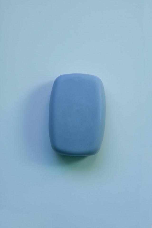 afbeelding van een stuk zeep